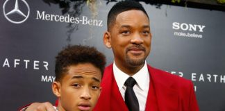 jayden and will smith on the red carpet